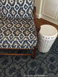 sampler pottery barn blue rug new desa bordered wool round 8 diameter nwt