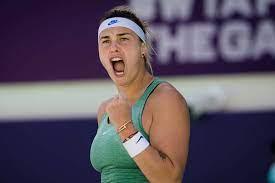 WTA Abu Dhabi: Aryna Sabalenka feiert 15. Sieg und 3. Titel in Folge