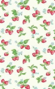 cute fruit iphone wallpaper. Contemporary Cute Cute Chic Strawberries Wallpaper Cath Kidston Wallpaper  Fabric Towels On Fruit Iphone Wallpaper U