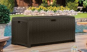 M Small Deck Storage Box Home Design Ideas And Suncast Extra Large