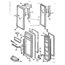 kenmore model 1067630562 refrigerators misc genuine parts Diagram Kenmore Appliances Refrigerators Kenmore Refrigerator 106 52514101 Wiring Diagrams #35