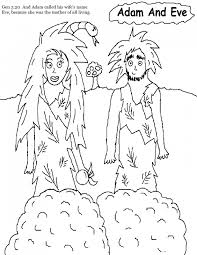 Small Picture Adam And Eve Coloring Pages For Kids Coloring Pages Kids Collection
