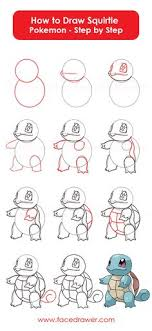 how to draw le from pokemon step by step drawing lesson find this pin and