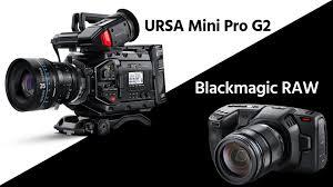 Blackmagic Design Ursa Mini Blackmagic Ursa Mini Pro G2 Introduced Pocket 4k Gets