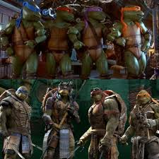 ninja turtles 2014. Exellent Ninja The 2014 Version Is Probably Around 80 Percent CGI With The Turtles Coming  To Life Through Motion Capture Suits This Highly Impressive And Brings Some  Intended Ninja N