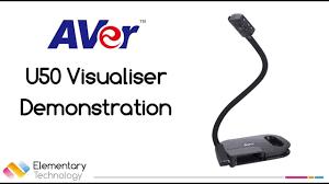 Aver <b>U50</b> Visualiser Demonstration - YouTube