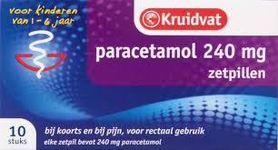 paracetamol zetpil 240 mg