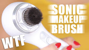 super sonic makeup brush first impressions