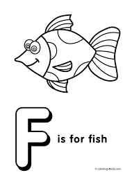 Small Picture Letter F coloring pages alphabet coloring pages F letter words