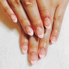 シンプルなフレンチで大人nail カラーもピンクでお上品な感じで素敵