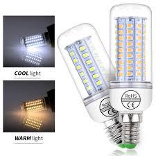 Senarai Harga 220v Led Light Bulb E27 Corn Bulb E14 Led Lamp 2835smd