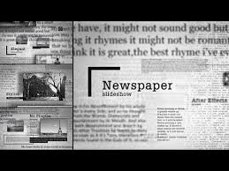 Newspaper Template After Effects Free Newspaper Slideshow After Effects Template Youtube