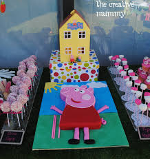 Pig Bedroom Decor Mollys Peppa Pig Party Thecreativemummy