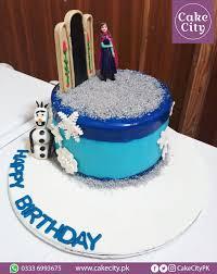 Frozen Princess Birthday Cake Girl Birthday Cake Ideas