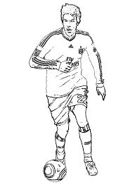Voetballers Kleurplaten Ruud Van Nistelrooy