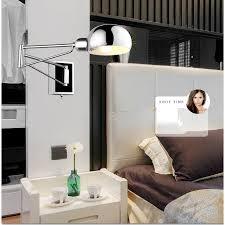 bedside sconce lighting. Image Of: Swing Arm Bedside Wall Sconces Sconce Lighting N