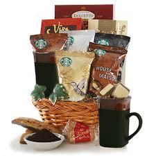 starbucks traditions starbucks gift basket