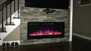 touchstone sideline 50 review a modern electric fireplace for
