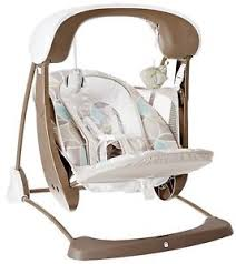 Portable Bassinet Baby Swing Seat Rocking Sleeping Crib Newborn ...