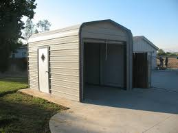 garages storage sheds pre fab steel buildings barns kits