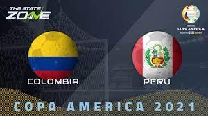 2021 Copa America – Colombia vs Peru ...