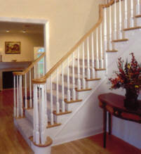 wood stair railing. Wonderful Railing Our Stair ReplacementRenovation Products U0026 Services For Wood Railing O