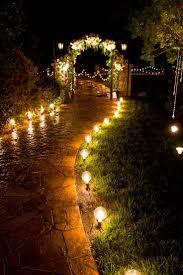 outdoor garden lighting for the wedding weddingproject