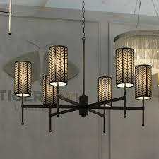 tigermoth lighting stem chandelier with birch lattice