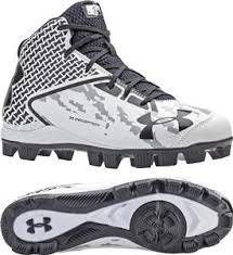 under armour baseball cleats. under armour mens deception mid molded cleats baseball l