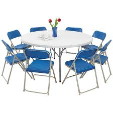 chair graceful costco card table ideas collection nps blow molded round and folding 9 pc set