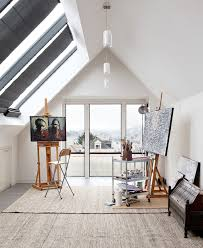 painting studio lighting. Contemporary Home Office By Dumican Mosey Architects Painting Studio Lighting