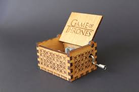 Engraved Wooden Music Box Game Of Thrones Engraved wooden music box Amazing Grace Christian Hymn Invenio 2