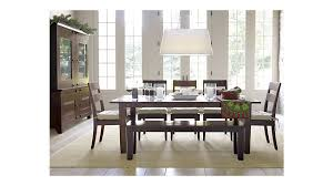 interior basque java dining tables crate and barrel latest table impressive 1 crate barrel