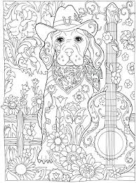Dog Coloring Pages For Adults Avusturyavizesiinfo