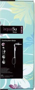 Aquasu Wellness Banja 72680 1 Shower System Chrome Amazon