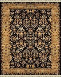 black and gold area rug cream rugs