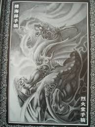 оптово формат Pdf татуировки книга 55pages феникс дракон бог череп дракона русалка