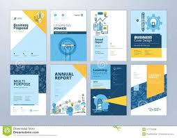 Design Stock Illustration - Of Brochure On Education Subject Templates 117755268 School Marketing Online Brochure Learning Set Vector The