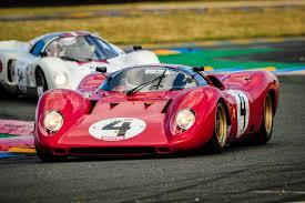 The Le Mans Ferraris At Chantilly Le Mans Classic