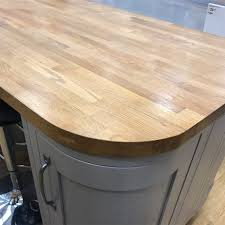 details about solid wood rustic kitchen worktop rustic oak 4cm thick 3m 4m wooden worktops