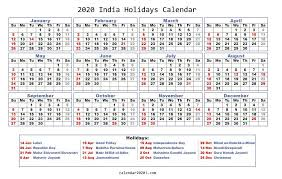 2020 Holidays Calendar Printable Worldwide Calendar 2020