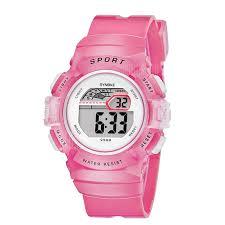 <b>SYNOKE</b> Children Candy <b>Color</b> LED Waterproof Electronic <b>Watch</b> ...