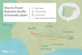 from seville to granada by train bus