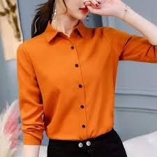 <b>Summer Autumn</b> 2018 Plus Size 2XL <b>Pink</b> Shirt <b>Female</b> Long ...