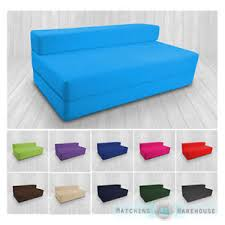 Cotton Twill Z Bed Double Size Fold Out Chairbed Chair Foam Folding