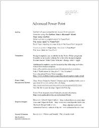 Powerpoint Resume Templates Resume Template Smart Resume By