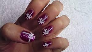 DIY Nail Art Christmas Gift Boxes Manicure PHOTOS HuffPost ...