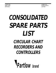 Partlow Spare Parts Listing Manualzz Com