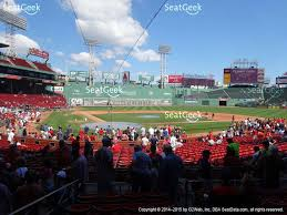 Boston Red Sox Seating Chart View Boston Red Sox At Fenway Park Loge Box 126 View Boston Red