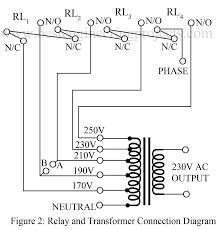 relay and transformer connection diagrams best engineering projects three phase transformer construction at Transformer Connection Diagrams